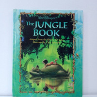 Vintage Disney The Jungle Book Storybook