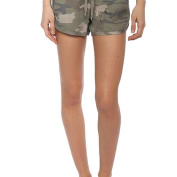 Rails Thatcher Camo Shorts W/ Stars