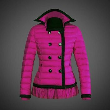 Moncler reduced Dali low collar quilted down jacket for women