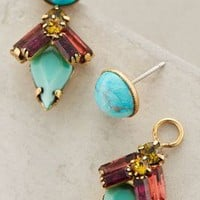 Windward Island Earrings by Elizabeth Cole Turquoise One Size Earrings