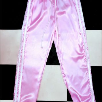 SWEET LORD O'MIGHTY! SILK KITTEN TRACKIEZ IN PINK