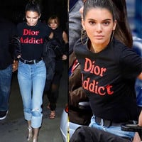 DIOR ADDICT T-SHIRT as worn by Kendall Jenner