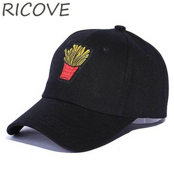 Trendy Winter Jacket Trucker Cap Men Cute Snapback Women Black Dad Hat Baseball Caps French Fries Embroidery Hip Hop Hats Casual Summer Curved Brim AT_92_12