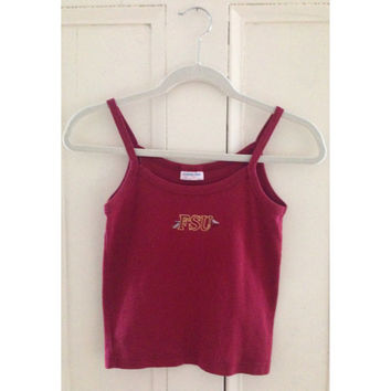 Vintage FSU Crop Top