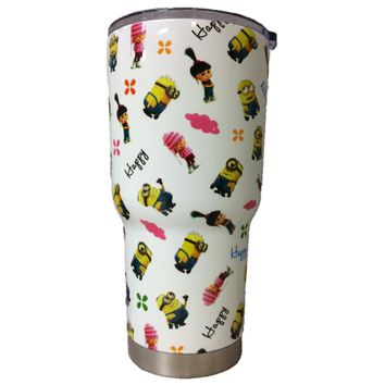 Happy Minions Tumbler Warehouse Tumbler