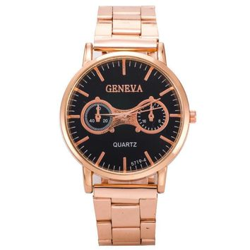 Awesome Trendy New Arrival Stylish Designer's Great Deal Good Price Gift High Quality Hot Sale Unisex Casual Stainless Steel Band Watch [6542109571]