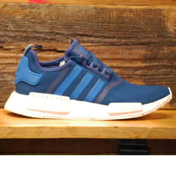 NMD R1 Blue/Blue/White S31502 Adidas Runner Boost