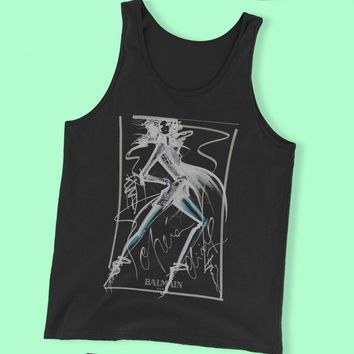 Beyonce Belmain Art Sexy Girl Tshirt Men'S Tank Top