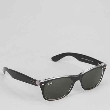 Ray-Ban Black New Wayfarer Sunglasses- Black One