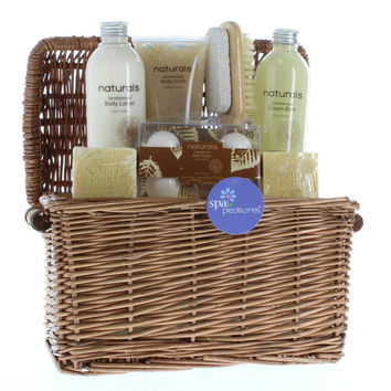 Spa Gift Basket, Best Healthy Gift Basket For Mom Sandalwood Naturals Spa Basket