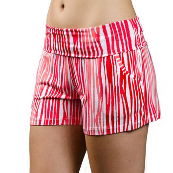 Coral Brush Briandra Shorts by Tart Collections
