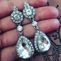 Ashley - Top Quality Cubic Zirconia Bridal Earrings