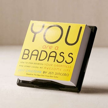 2017 You Are A Badass Page-A-Day Calendar - Urban Outfitters