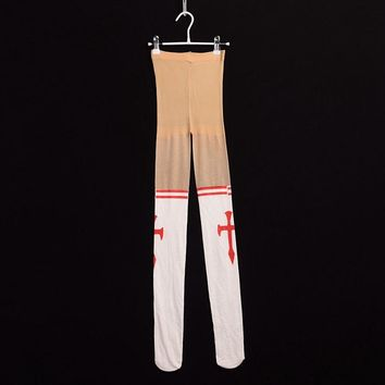 Anime Sword Art Online Tights Yuuki Asuna White Pantyhose Stockings Girls Cosplay Props