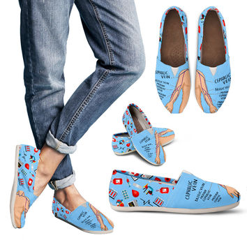 Phlebotomy Diagram Casual Shoes-Clearance