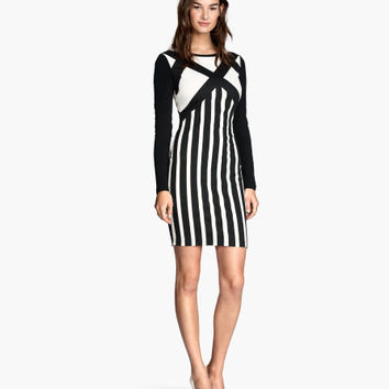 Long-sleeved Dress - from H&M