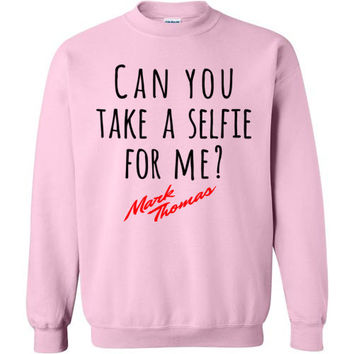 Mark Thomas Can you Take a selfie for me Sweater