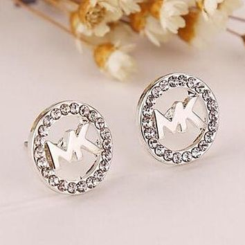 8DESS Michael Kors MK Women Diamonds Fashion Stud Earring Jewelry aa2e85227