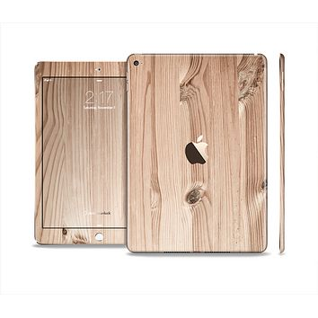 The LIght-Grained Wood Skin Set for the Apple iPad Air 2