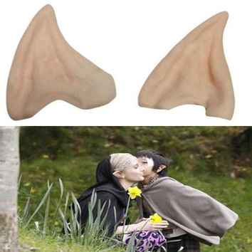 Latex Fairy Pixie Elf Ears Prosthetic