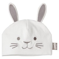 Peter Rabbit Infant Hat White Newborn