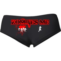 ZOMBIES LOVE ME Booty Shorts # 662