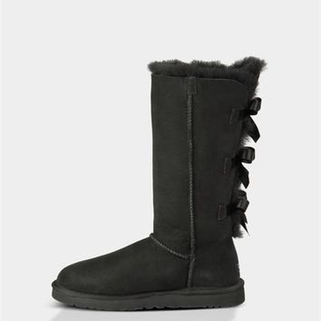 UGG Bailey Bow Tall Boots 1007308 Black