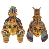 Masks of Egyptian Royalty Wall Sculptures