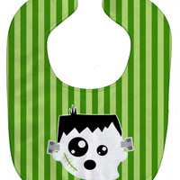 Halloween Ghost Frankenstein Baby Bib BB6958BIB