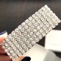 New rhinestone full of elegant high-end hairpin hair accessories