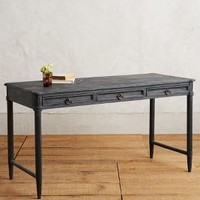 Washed Wood Desk by Anthropologie