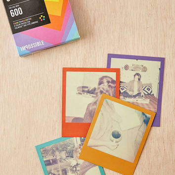 Impossible Assorted Square Frame Polaroid 600 Instant Film - Urban Outfitters