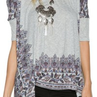 FREE PEOPLE PICK ME UP TEE