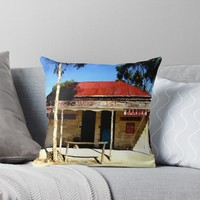 'Butcher or Barber ' Throw Pillow by cjcphotography