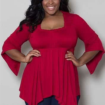Plus Size Tops | Enchanted Top | Swakdesigns.com