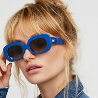 Free People The Velvet Mirror Sunglasses
