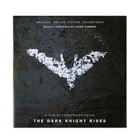 The Dark Knight Rises Soundtrack Vinyl LP Hot Topic Exclusive