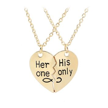 His Only Her One Necklace July 2017