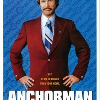 Anchorman: The Legend of Ron Burgundy (2004) - 11 x 17  - Style A