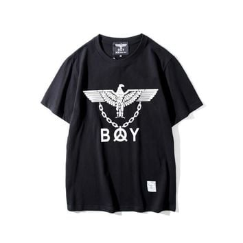 kuyou Boy London  Eagle with Iron Chain T-Shirt