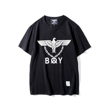 qiyif Boy London  Eagle with Iron Chain T-Shirt