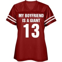 My boyfriend is a giant