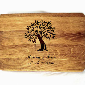Personalized cutting boards Cutting board wedding gift Custom Engraved Wedding Gift Valentines Day