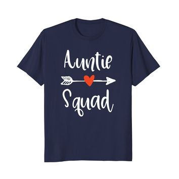 dd1b6586b Funny Vintage Aunt Squad Shirt Proud Auntie Gift T-Shirt
