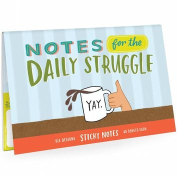 Notes For The Daily Struggle Sticky Note Packet