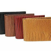 Fashion Snake Print Bi-fold Wallet
