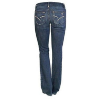 Joes 60Nw5124 Distressed Boot Cut Womens Jeans  Medium Wash Size 24