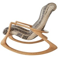 Vladimir Kagan 'Contour' Rocking Chair, Rare 1960s
