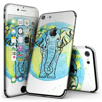 Worldwide Sacred Elephant - 4-Piece Skin Kit for the iPhone 7 or 7 Plus