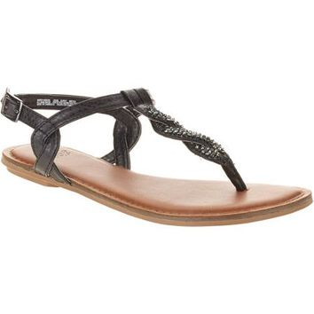 Faded Glory Women's Shine Thong Sandal - Walmart.com